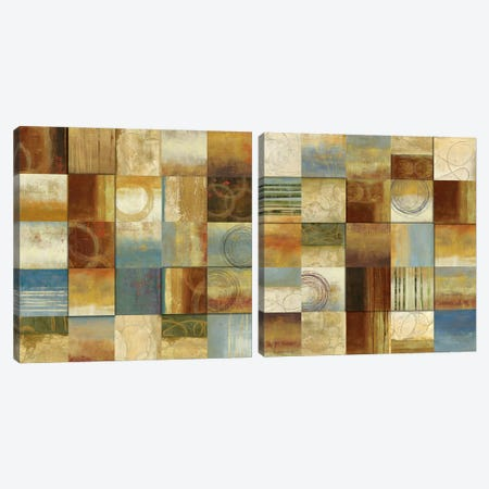 Connections Diptych Canvas Print Set #ALP2HSET009} by Allison Pearce Canvas Wall Art