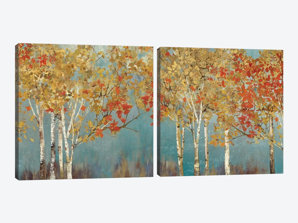 First Moment Diptych by Allison Pearce 2-piece Canvas Wall Art