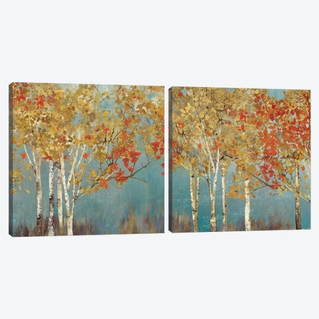 First Moment Diptych Canvas Print Set #ALP2HSET010} by Allison Pearce Canvas Print