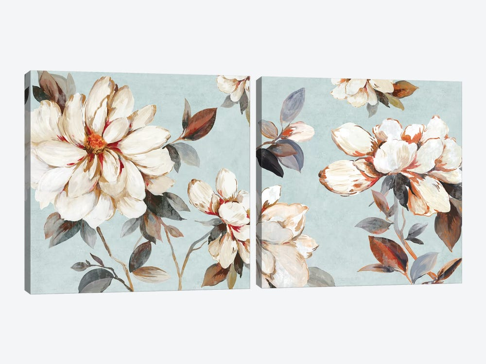 Neutral Bliss Diptych by Allison Pearce 2-piece Art Print