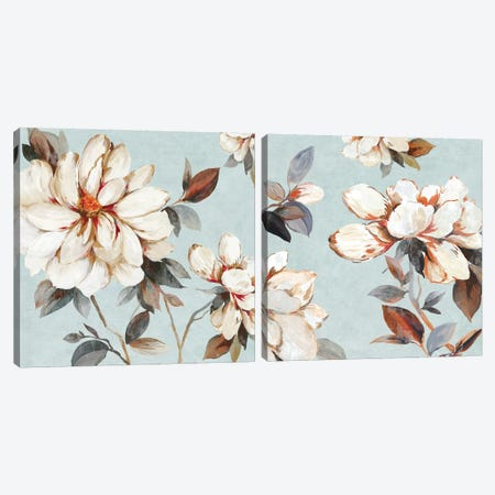 Neutral Bliss Diptych Canvas Print Set #ALP2HSET013} by Allison Pearce Canvas Print