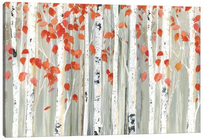 Red Leaves Canvas Art Print