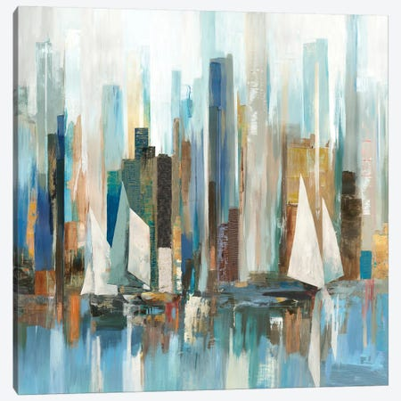 Regatta I Canvas Print #ALP303} by Allison Pearce Canvas Print