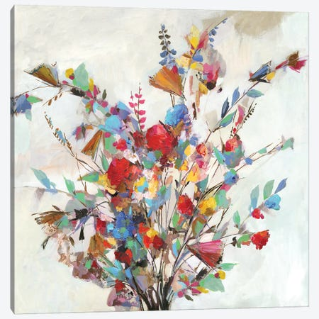 Spring Bouquet  Canvas Print #ALP308} by Allison Pearce Canvas Print