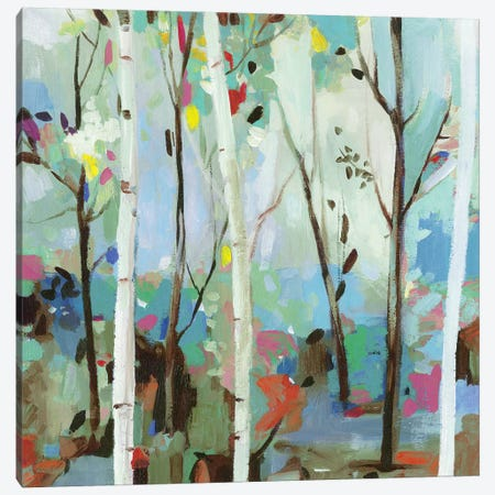 Birchwood Forest  Canvas Print #ALP312} by Allison Pearce Canvas Art