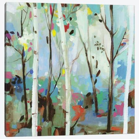 Birchwood Forest  Canvas Print #ALP312} by Allison Pearce Canvas Art