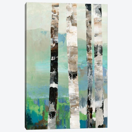 Birchwood I  Canvas Print #ALP313} by Allison Pearce Canvas Wall Art