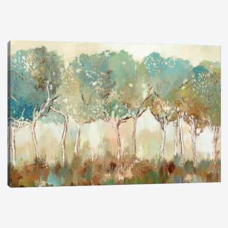 Golden Sunlight  3-Piece Canvas #ALP317} by Allison Pearce Canvas Art Print
