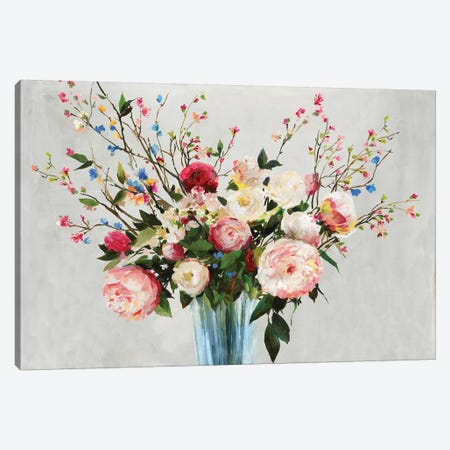 Grenada Flowers  Canvas Print #ALP327} by Allison Pearce Canvas Wall Art
