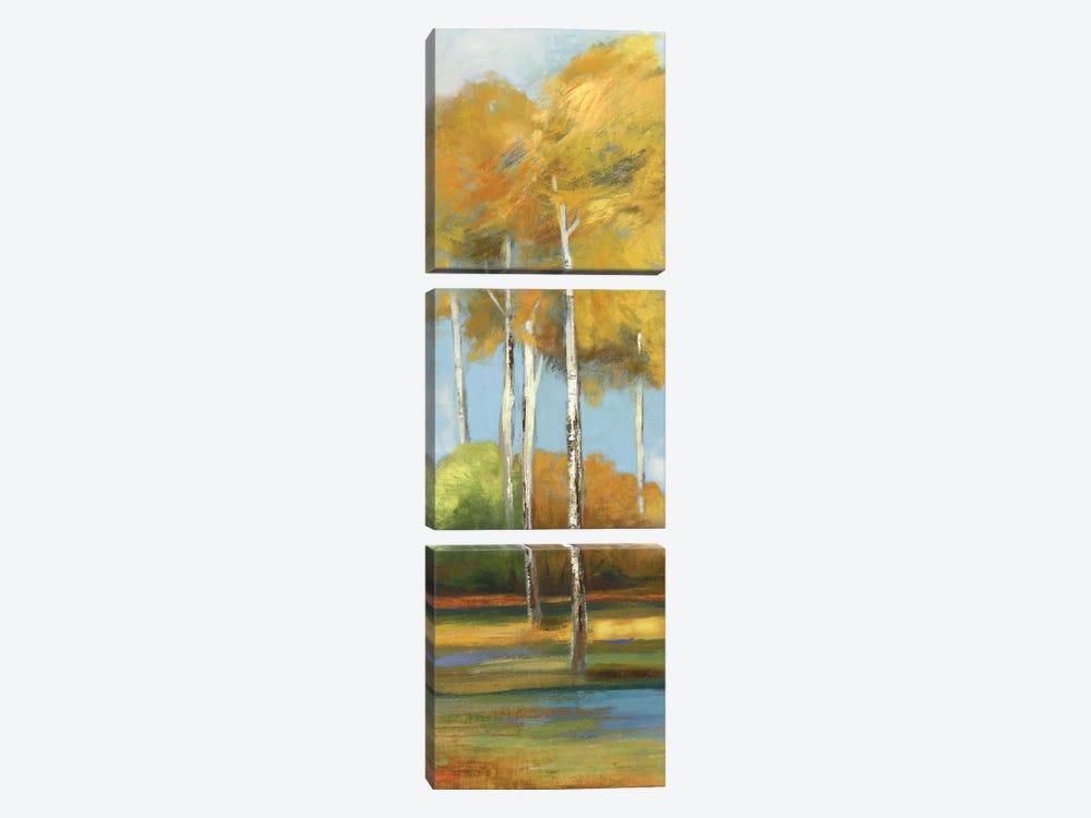 Breezes I by Allison Pearce 3-piece Canvas Art Print