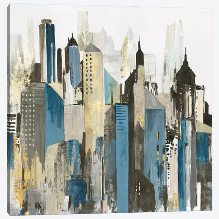 City of Wonder Canvas Print #ALP341} by Allison Pearce Canvas Art Print