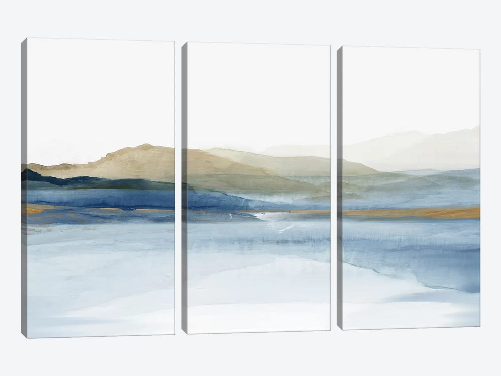 Luminosity  by Allison Pearce 3-piece Canvas Print
