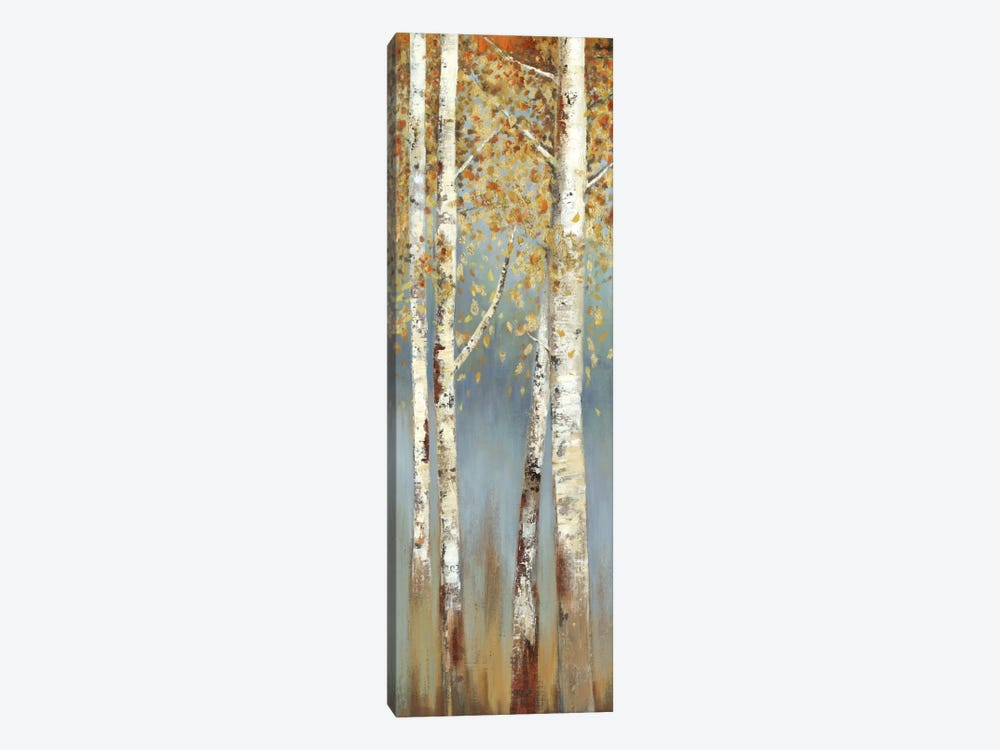 Butterscotch Birch Trees I by Allison Pearce 1-piece Canvas Artwork