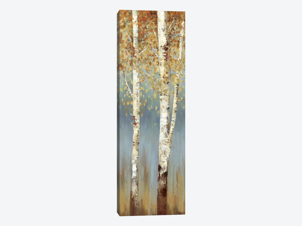 Butterscotch Birch Trees II by Allison Pearce 1-piece Art Print
