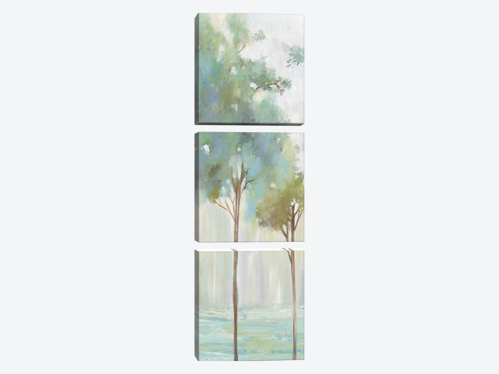 Enlightenment Forest III  by Allison Pearce 3-piece Canvas Art Print