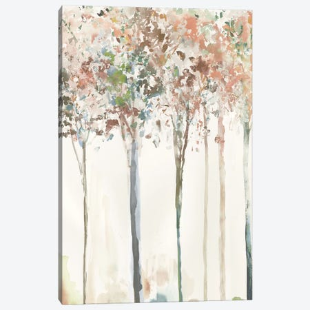 Golden Trees I  Canvas Print #ALP374} by Allison Pearce Canvas Art Print