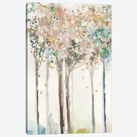 Golden Trees II  Canvas Print #ALP375} by Allison Pearce Canvas Art Print