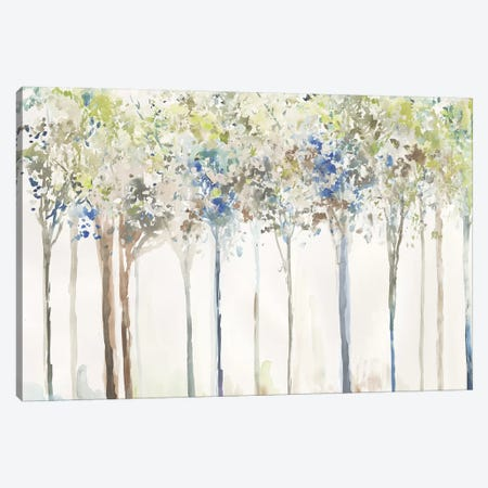 Indigo Ink Trees  Canvas Print #ALP376} by Allison Pearce Canvas Art Print