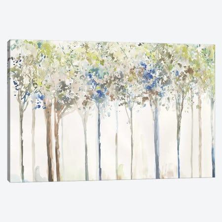 Indigo Ink Trees  Canvas Print #ALP376} by Allison Pearce Canvas Art Print