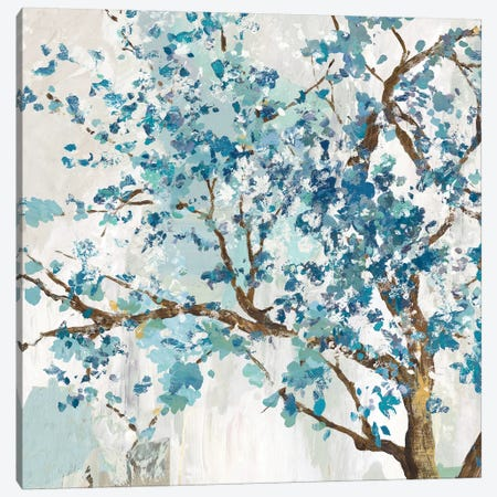 Indigo Oak  Canvas Print #ALP377} by Allison Pearce Canvas Art Print