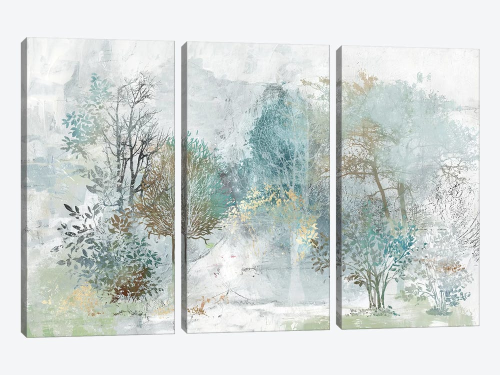 Mysterious Forest by Allison Pearce 3-piece Art Print
