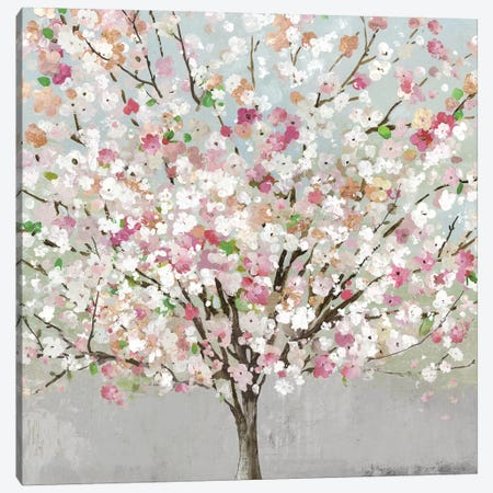 Spring Love Canvas Print #ALP388} by Allison Pearce Art Print