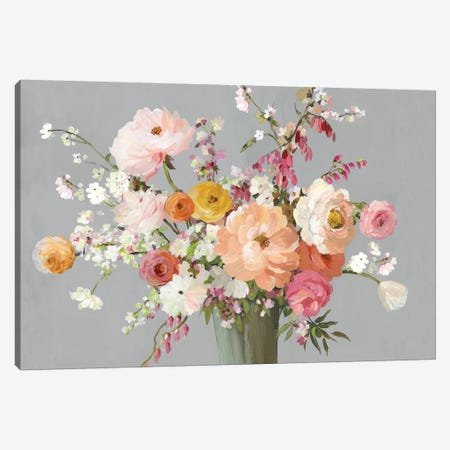 Floral Song Canvas Print #ALP394} by Allison Pearce Canvas Print