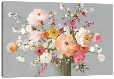 Floral Song Canvas Art Print