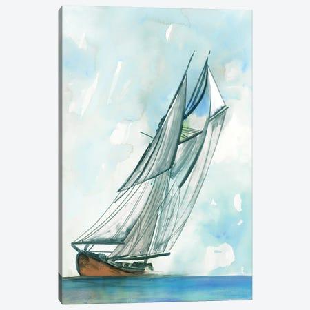 New Horizon 3-Piece Canvas #ALP396} by Allison Pearce Canvas Art Print