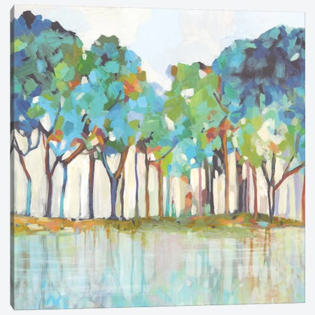 On That Side of Dream 3-Piece Canvas #ALP397} by Allison Pearce Canvas Print