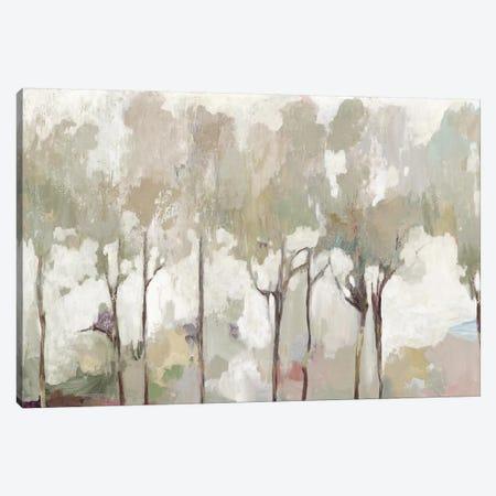 Soft Pastel Forest 3-Piece Canvas #ALP399} by Allison Pearce Canvas Wall Art