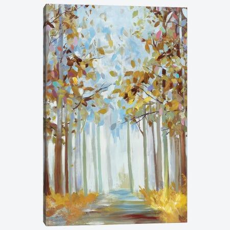 Walking Throug Gold Canvas Print #ALP404} by Allison Pearce Canvas Art Print