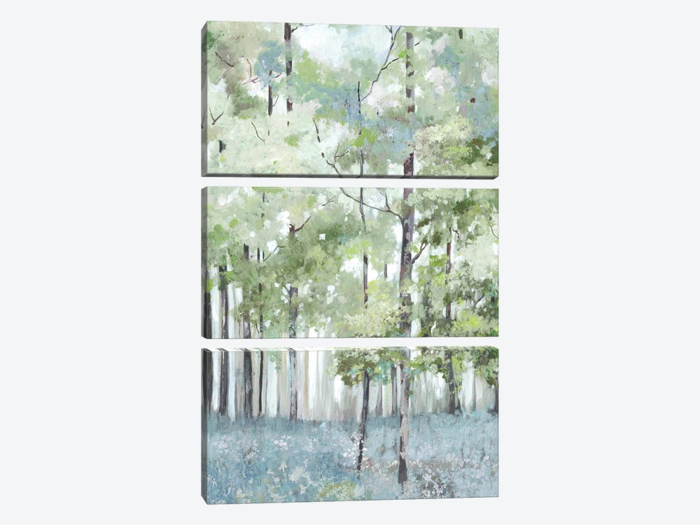 Light Forest by Allison Pearce 3-piece Art Print