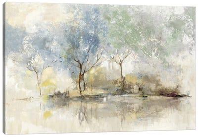 Pale Meadow Canvas Art Print
