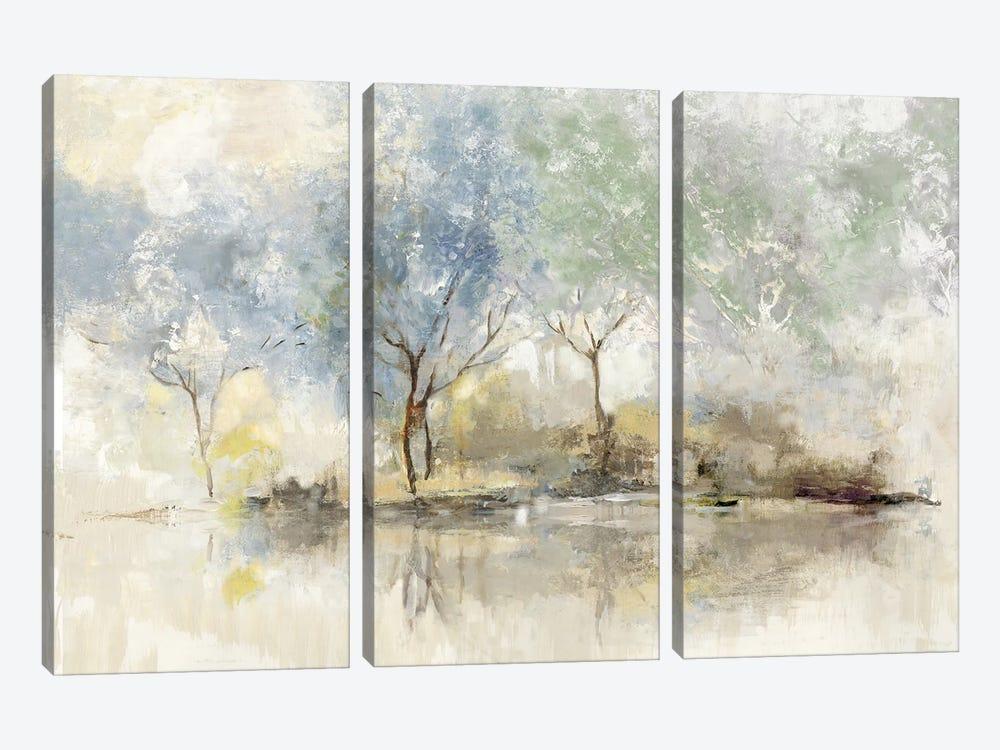 Pale Meadow by Allison Pearce 3-piece Art Print