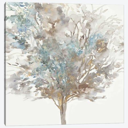 Tree Teal II Canvas Print #ALP436} by Allison Pearce Canvas Art