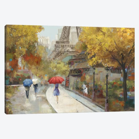 Amant de Marche Canvas Print #ALP4} by Allison Pearce Canvas Artwork