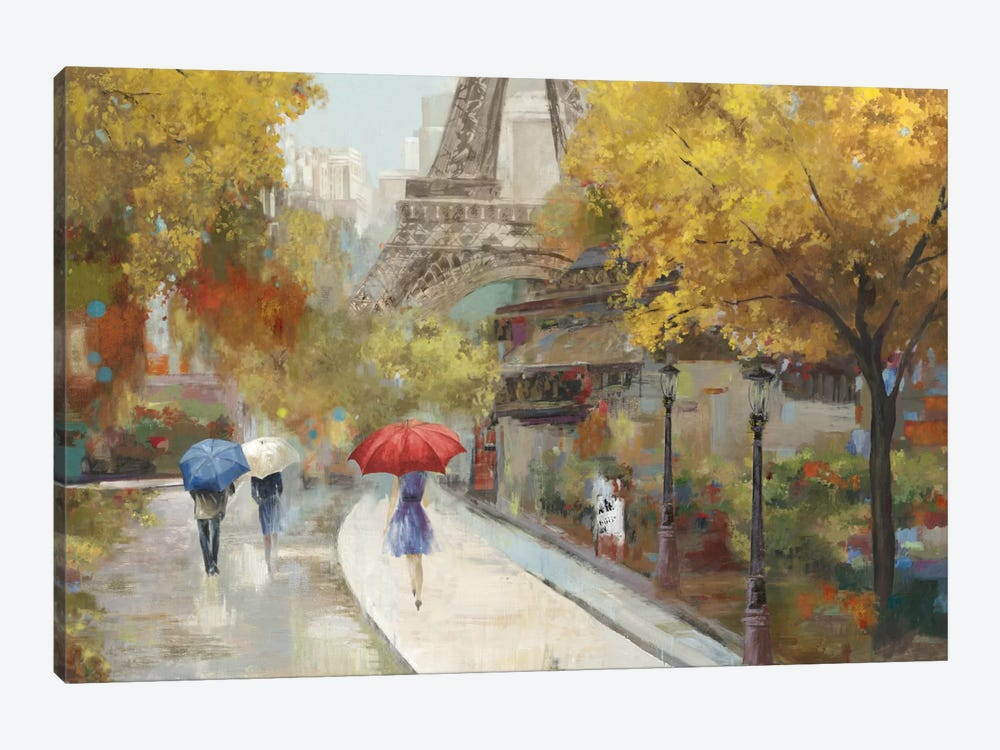 Amant de Marche by Allison Pearce 1-piece Canvas Print