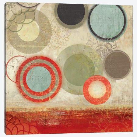 Colourful Elements II Canvas Print #ALP54} by Allison Pearce Art Print