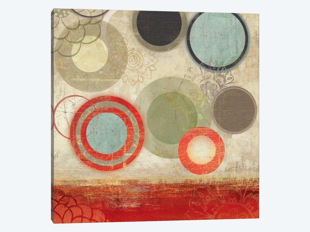 Colourful Elements II by Allison Pearce 1-piece Canvas Art Print
