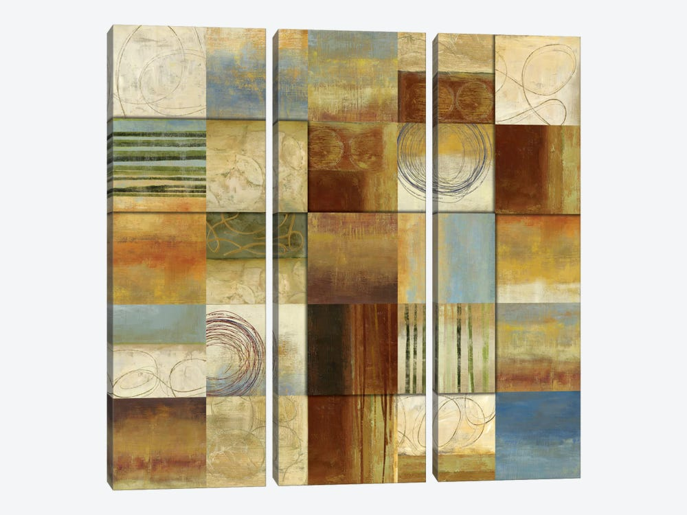Connections II by Allison Pearce 3-piece Canvas Artwork