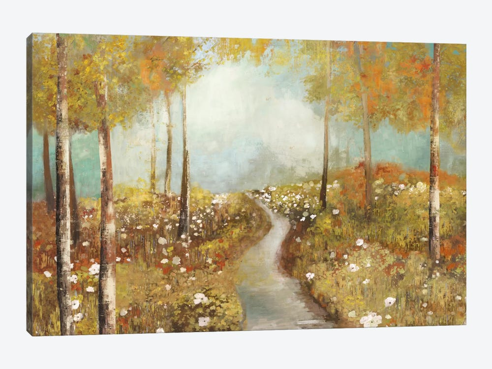 Dandelion Path by Allison Pearce 1-piece Canvas Art