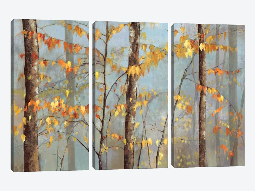 Delicate Branches by Allison Pearce 3-piece Art Print