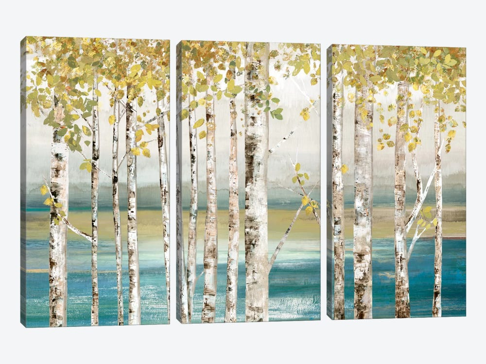 Down By The River I by Allison Pearce 3-piece Art Print