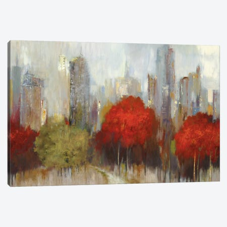 Downtown I Canvas Print #ALP67} by Allison Pearce Canvas Artwork