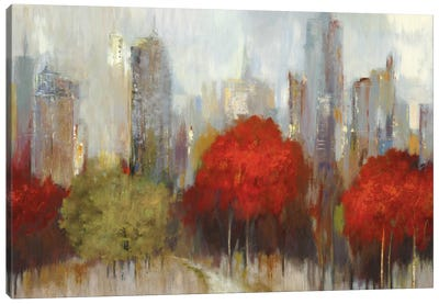 Downtown I Canvas Art Print
