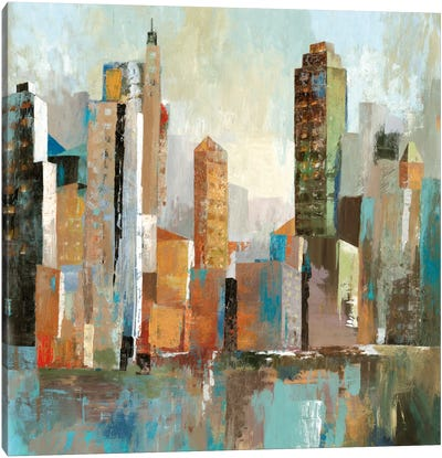 Downtown II Canvas Art Print