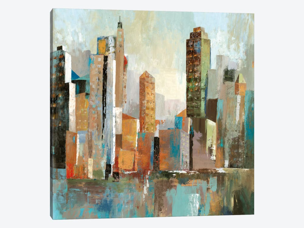 Downtown II by Allison Pearce 1-piece Canvas Wall Art