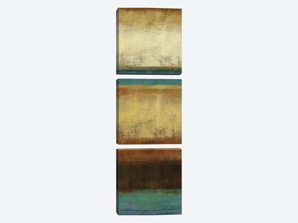Earth by Allison Pearce 3-piece Canvas Art Print