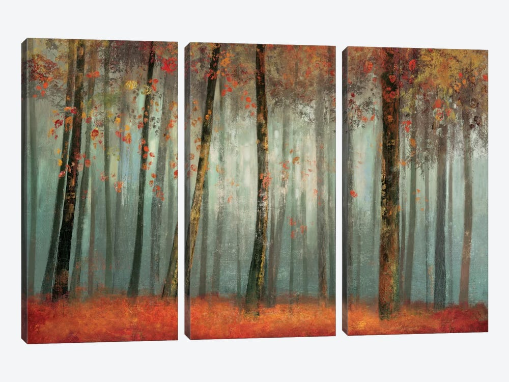 Earthly Delight by Allison Pearce 3-piece Canvas Art Print